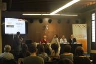 Josep Maria Canyelles, coordinador de Respon.cat, intervenint sobre diversitat i RSE a la Jornada de la Fundació ACSAR